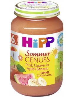 Hipp Sommer Genuss Pink Guave in Apfel-Banane  (190 g) - 4062300262201