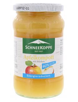 Schneekoppe Apfelkompott mit Stücken  (340 g) - 40397924