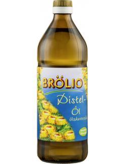 Brölio Distelöl ölsäurereich  (750 ml) - 4000351507537