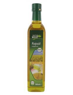 NaturWert Bio Rapsöl kaltgepresst  (500 ml) - 4250780312725
