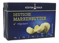 Küstengold Deutsche Markenbutter  (250 g) - 4000436050743
