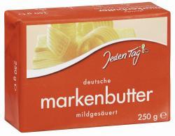 Jeden Tag Deutsche Markenbutter  (250 g) - 4306188049760