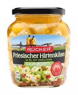 Rücker Waterkant Salatwürfel in Öl mit Kräutern  (300 g) - 4008960005758