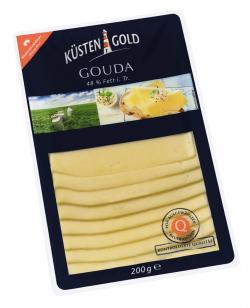 Küstengold Gouda  (200 g) - 4000436504093