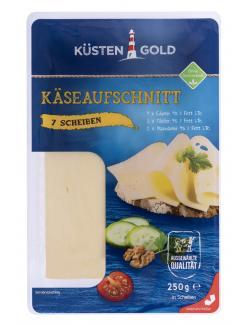 Küstengold Käseaufschnitt 3 Sorten  (250 g) - 4000436544594
