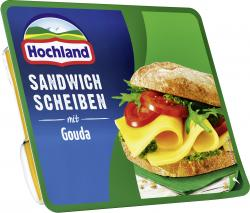 Hochland Sandwich Scheiben mit Gouda  (175 g) - 4002468113045