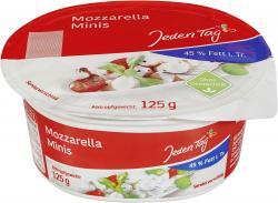 Jeden Tag Mozzarella Minis  (125 g) - 4306188724094