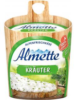Almette Alpenfrischkäse Kräuter  (150 g) - 4002468084017