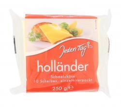 Jeden Tag Schmelzkäse-Scheiben Holländer  (250 g) - 4306188724124