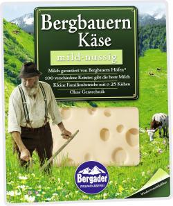 Bergader Bergbauern Käse mild-nussig  (160 g) - 4006402046116