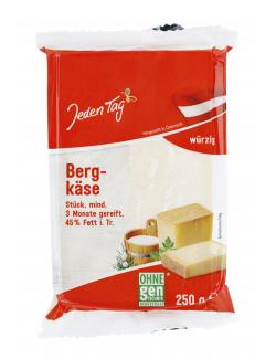 Jeden Tag Bergkäse  (250 g) - 4306188334927