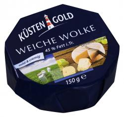 Küstengold Weiche Wolke mild & cremig  (150 g) - 4250426214093