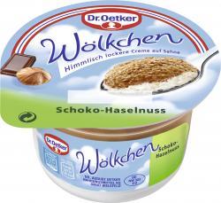 Dr. Oetker Wölkchen Schoko-Haselnuss  (125 g) - 40236261