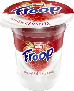 Müller Froop Frucht auf Joghurt Erdbeere  (150 g) - 40255101