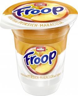 Müller Froop Frucht auf Joghurt Pfirsich-Maracuja  (150 g) - 40255514