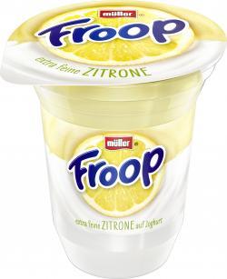 Müller Froop Frucht auf Joghurt Zitrone  (150 g) - 40255521