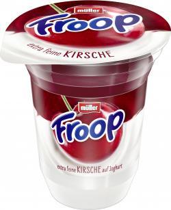 Müller Froop Frucht auf Joghurt Kirsche  (150 g) - 4025500025588