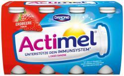 Danone Actimel Erdbeere  (8 x 100 g) - 4009700017611