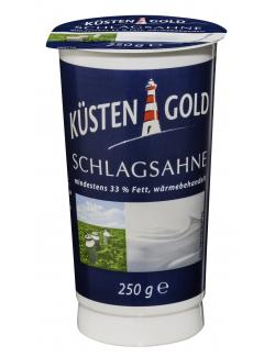 Küstengold Schlagsahne 33%  (250 g) - 4036300068538