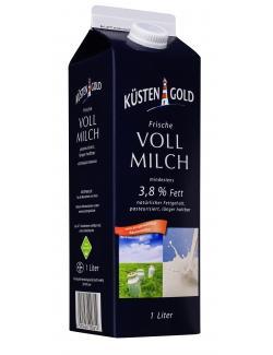 Küstengold Frische Vollmilch 3,8%  (1 l) - 4000436110171