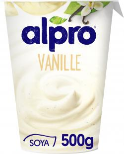 Alpro Soja-Joghurt Vanille  (500 g) - 5411188102823