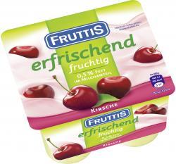 Fruttis Joghurt Kirsche 0,5%  (4 x 125 g) - 4040600027485
