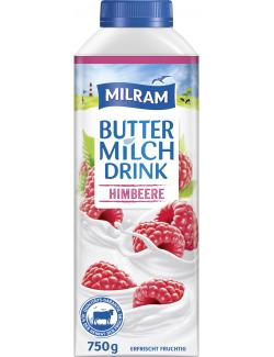 Milram Buttermilch Drink Himbeere  (750 g) - 4036300095244