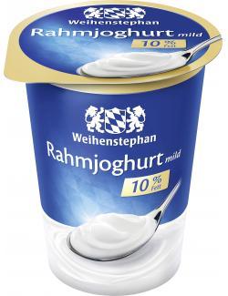 Weihenstephan Unser Cremigster Rahmjoghurt mild 10%  (500 g) - 4008452029897