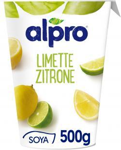 Alpro Soja-Joghurt Limette-Zitrone  (500 g) - 5411188112747