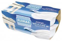 Elinas Joghurt nach griechischer Art Natur  (4 x 150 g) - 4003490323600