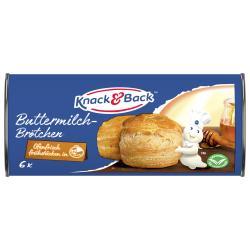 Knack & Back Buttermilch-Brötchen  (250 g) - 4016424064920