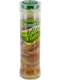 Feinkost Dittmann Sardellenfilets in Salz  (50 g) - 4002239250009