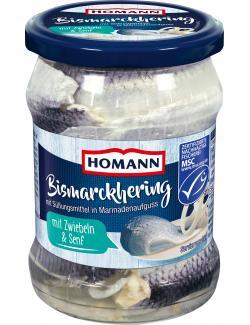 Homann Bismarckhering mit Zwiebeln & Senf  (270 g) - 4030800511044