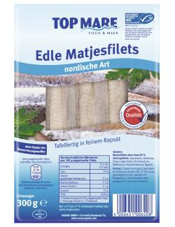 Top Mare Edle Matjesfilets nordische Art  (300 g) - 4006451006208
