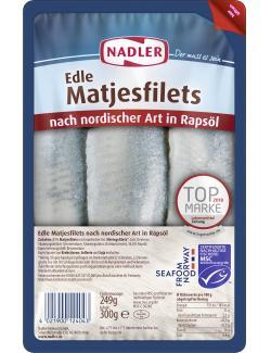 Nadler Edle Matjesfilets nach nordischer Art  (300 g) - 4021900124043