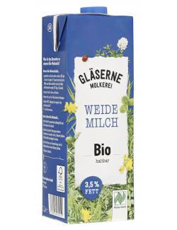 Gläserne Molkerei Haltbare Bio-Vollmilch 3,8%  (1 l) - 4260026432551