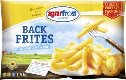 Agrarfrost Back Frites  (1,50 kg) - 4003880005703