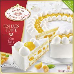 Coppenrath & Wiese Festtagstorte Käse Sahne  (1,40 kg) - 4008577000115