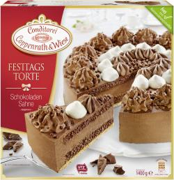 Coppenrath & Wiese Festtagstorte Schokoladen Sahne  (1,40 kg) - 4008577000481