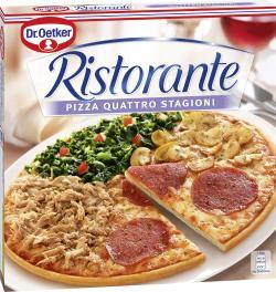 Dr. Oetker Ristorante Pizza Quattro Stagioni  (370 g) - 4001724819707