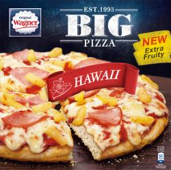 Original Wagner Big Pizza Hawaii  (420 g) - 4009233012299