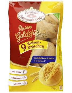Coppenrath & Wiese Unsere Goldstücke Weizenbrötchen  (9 St.) - 4008577006018