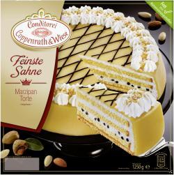 Coppenrath & Wiese Feinste Sahne Marzipan-Torte  (1,25 kg) - 4008577000450