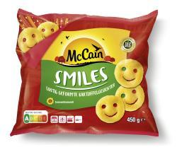 McCain Smiles  (450 g) - 8710438026283
