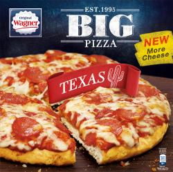 Original Wagner Big Pizza Texas  (400 g) - 4009233012374