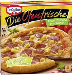 Dr. Oetker Die Ofenfrische Pizza Pepperoni-Salami  (415 g) - 4001724011088