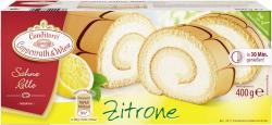 Coppenrath & Wiese Sahne-Rolle Zitrone  (400 g) - 4008577000276
