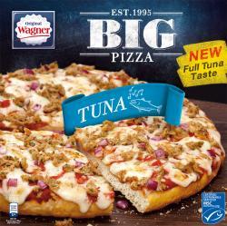 Original Wagner Big Pizza Thunfisch  (420 g) - 4009233012008