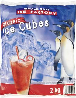 Walter Gott Ice Factory Classic Ice Cubes  (2 kg) - 4260031990022