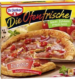 Dr. Oetker Die Ofenfrische Pizza Diavolo  (405 g) - 4001724010906